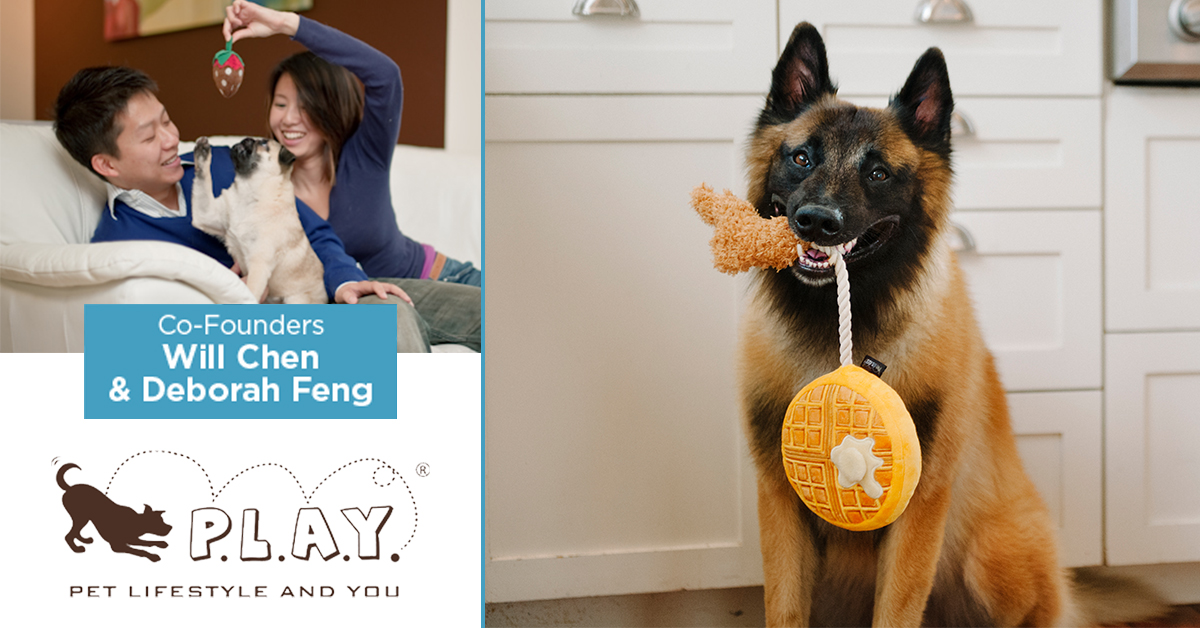 Pet Play co-founders Will Chen and Deborah Feng