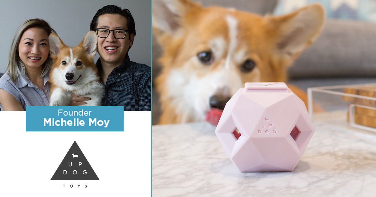 Up Dog Toys founder Michelle Moy