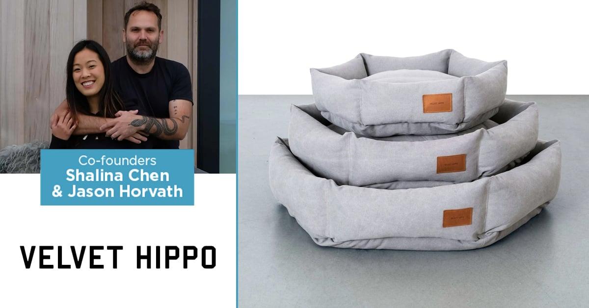 Velvet Hippo co-founders Shalina Chen and Jason Horvath